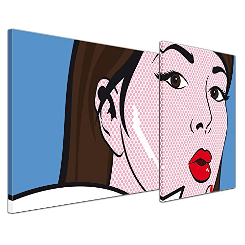 pop art oops bild 2 teilig knallrotes gummiboot. Black Bedroom Furniture Sets. Home Design Ideas