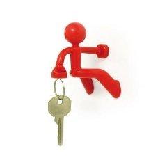 Peleg Design PE674 Schlüsselhalter Key Pete magnetisch rot