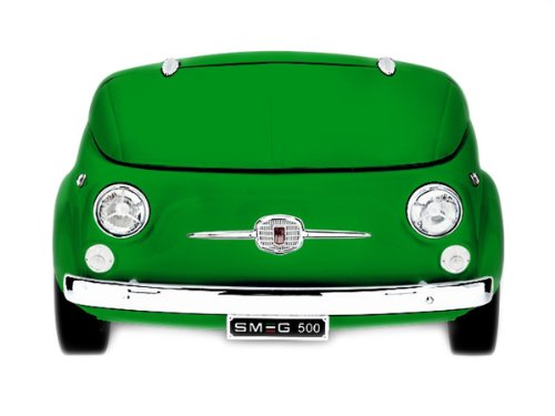 Smeg SMEG500V Stand Getränkekühlschrank Retro Design Fiat Flaschenkühler A+