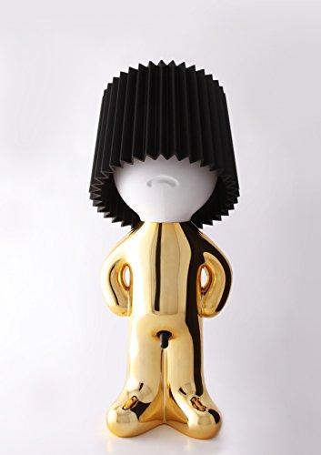 Lampe Mr. P Shy One Man Show schwarz gold