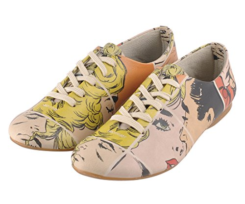 Pop Art Sneaker Kiss me…pop art
