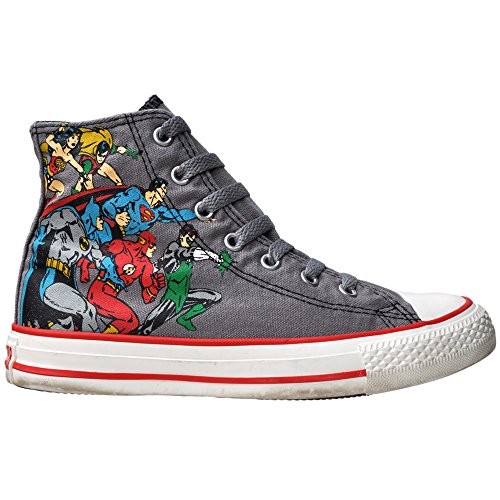 Converse Comic Chucks Batman Print HI Can Grey