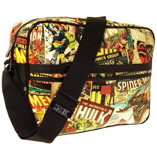 Comic Umhängetasche Marvel Comic Strip Messenger Bag