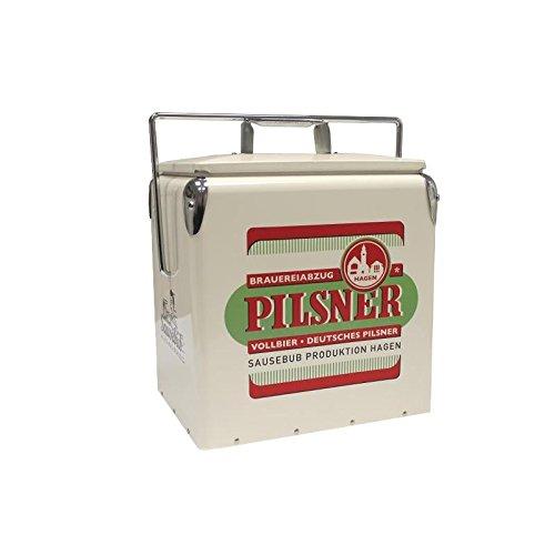Pilsner Retro Kühlbox Pils Bier 40er 50er 60er Vintage Design