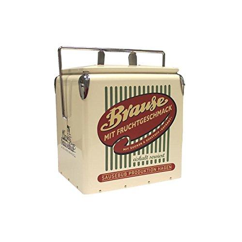 Retro Brause Blech Kühlbox 50er 60er Vintage Style