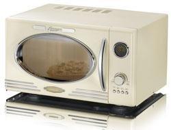 Retro Mikrowelle 50er Jahre Design