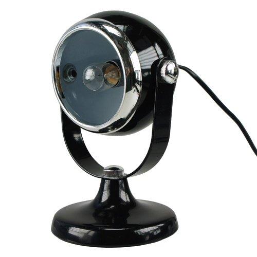 Retro Tischlampe LUCIS black