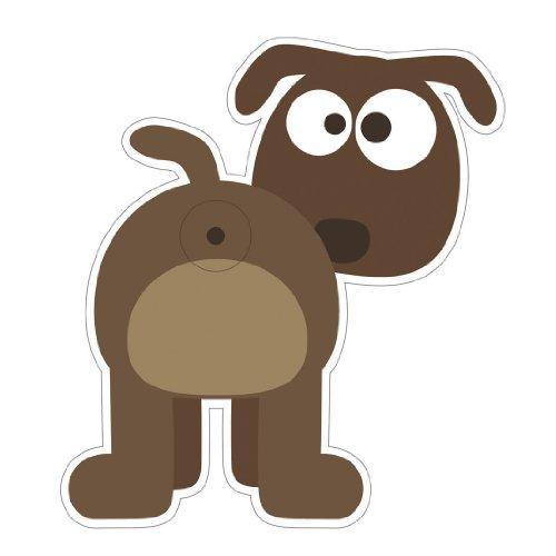 Türspion Sticker Hund