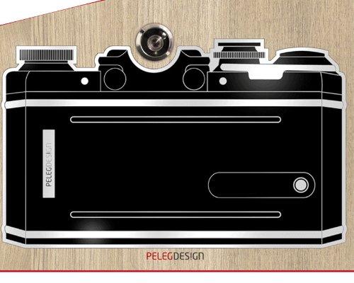 Türspion Sticker Kamera Sucher