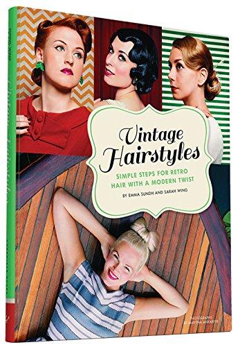 Vintage Hairstyles Retro Frisuren Buch 50er Jahre