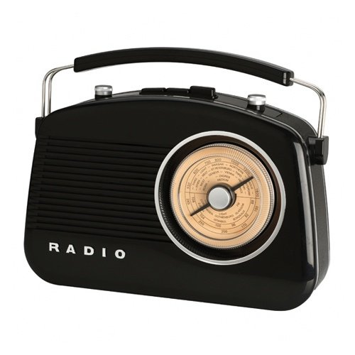 Retro Radio SIXTIES black