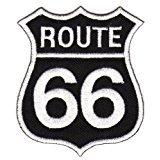 Aufnäher Bügelbild Patches Route 66
